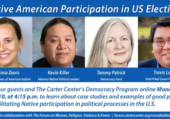 Native American Participation in US Elections: Case Studies